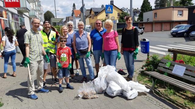 """Cleanup """"Heddernheim räumt auf"""""""