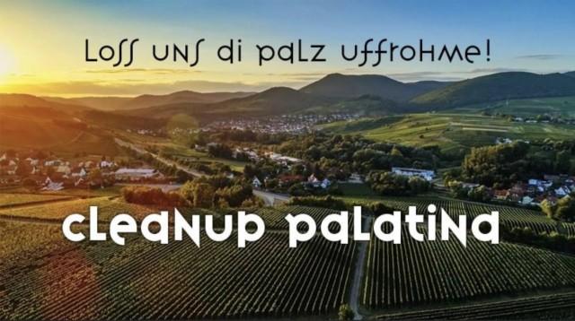 CleanUp Palatina (loss uns di palz uffrohme)