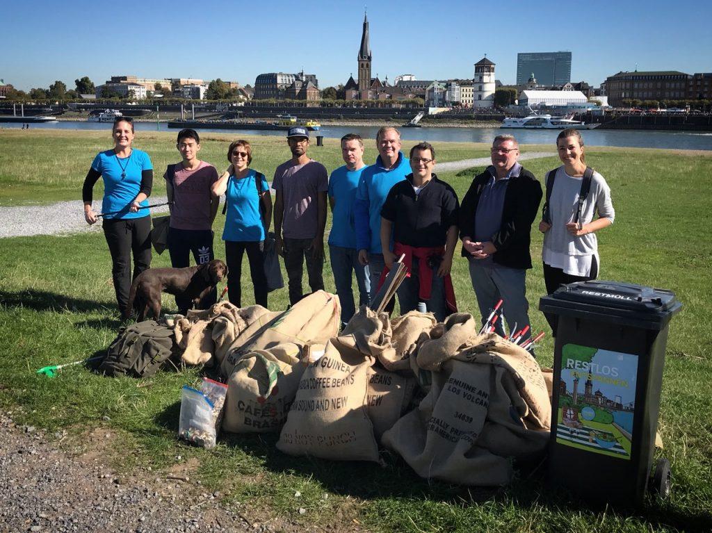 Rhein Cleanup Düsseldorf