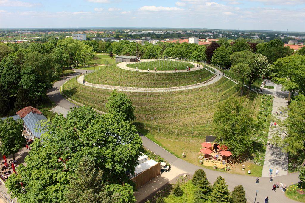 Buga-Volkspark Potsdamm Müll