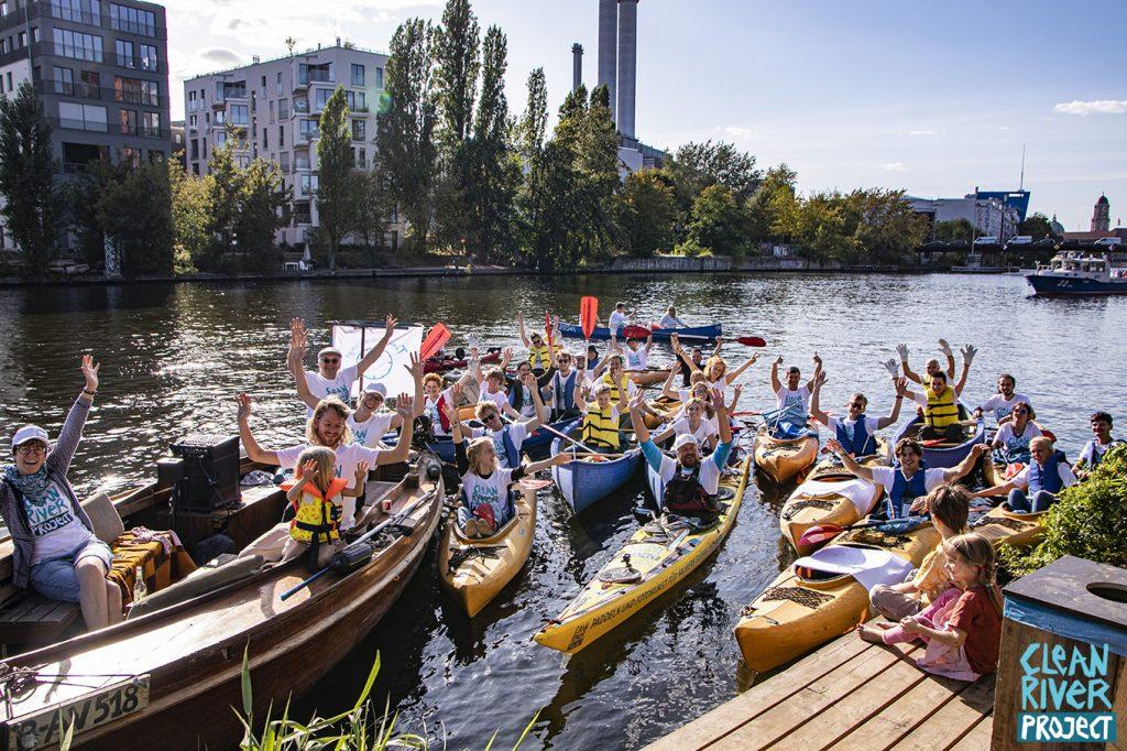clean river project kajak tour