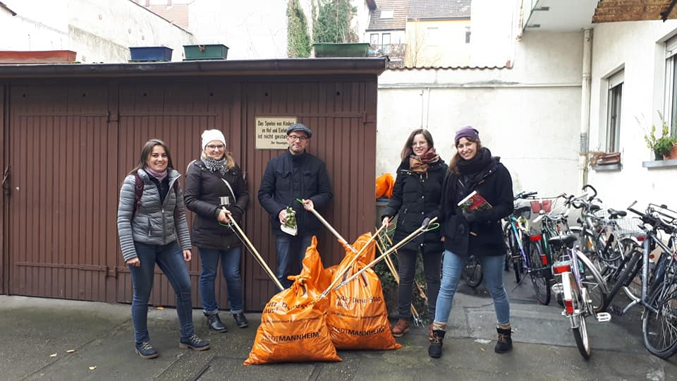 clean your #mannheimat - cleanup mannheim
