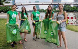 Die Stadt Frankfurt wird mit #cleanffm Netzwerkpartner