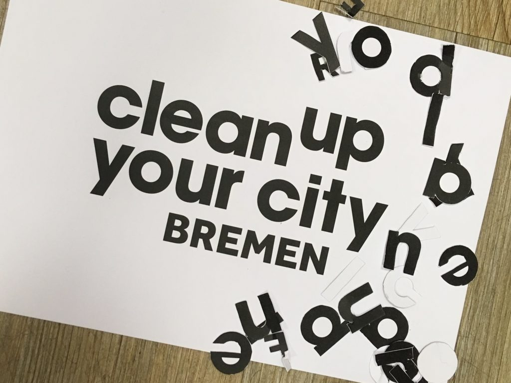clean up your city bremen logo