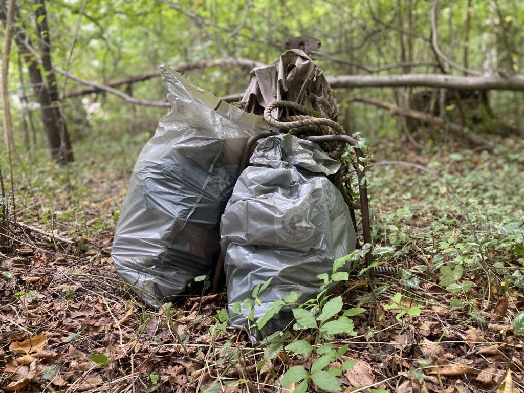 Konstanz Cleanup gesammelter Müll
