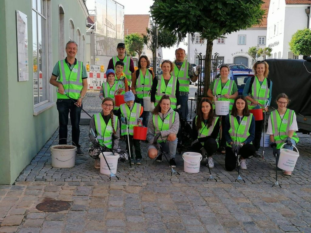 cleanup langquaid world cleanup day 2020