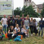 Cleanup Stuttgart - der Bismarckplatz ist jetzt sauber!