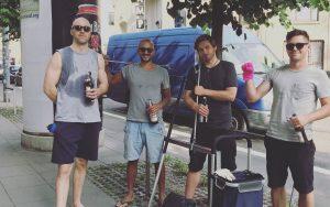Stuttgart Marienplatz – so beginnt die Geschichte der Cleanups