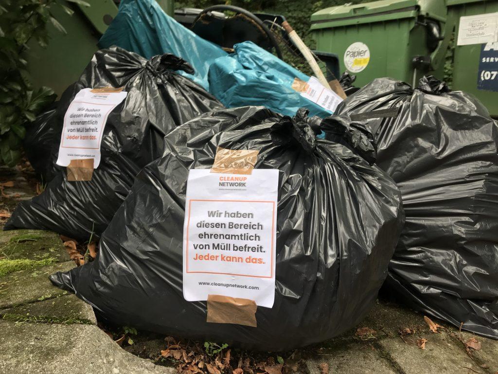 müll für abfallwirtschaft stuttgart neckar cleanup