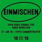 Einmischen - Open Space-Format für junge Menschen