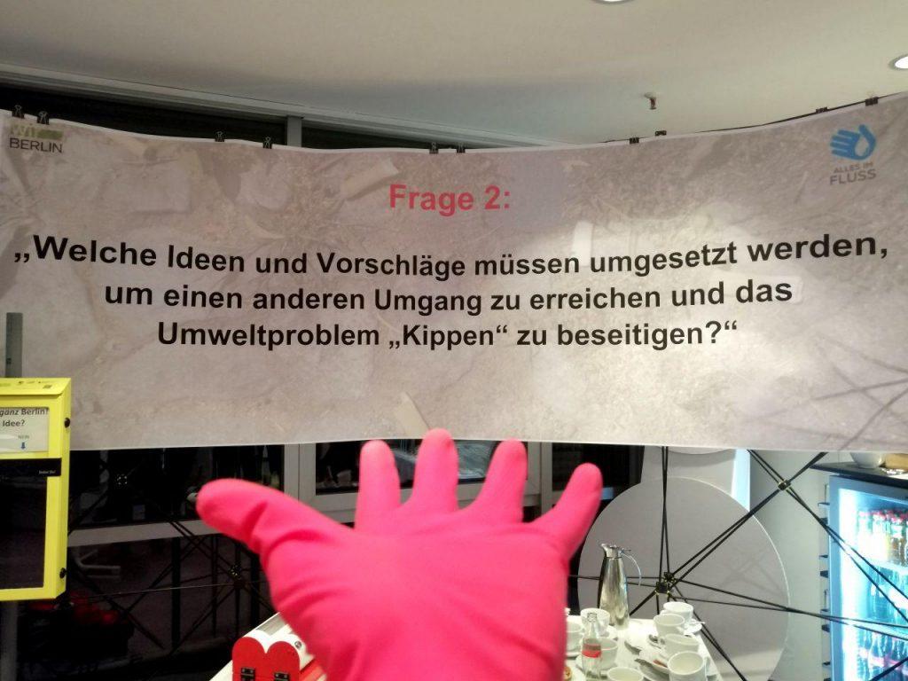 kippen banner umwelt
