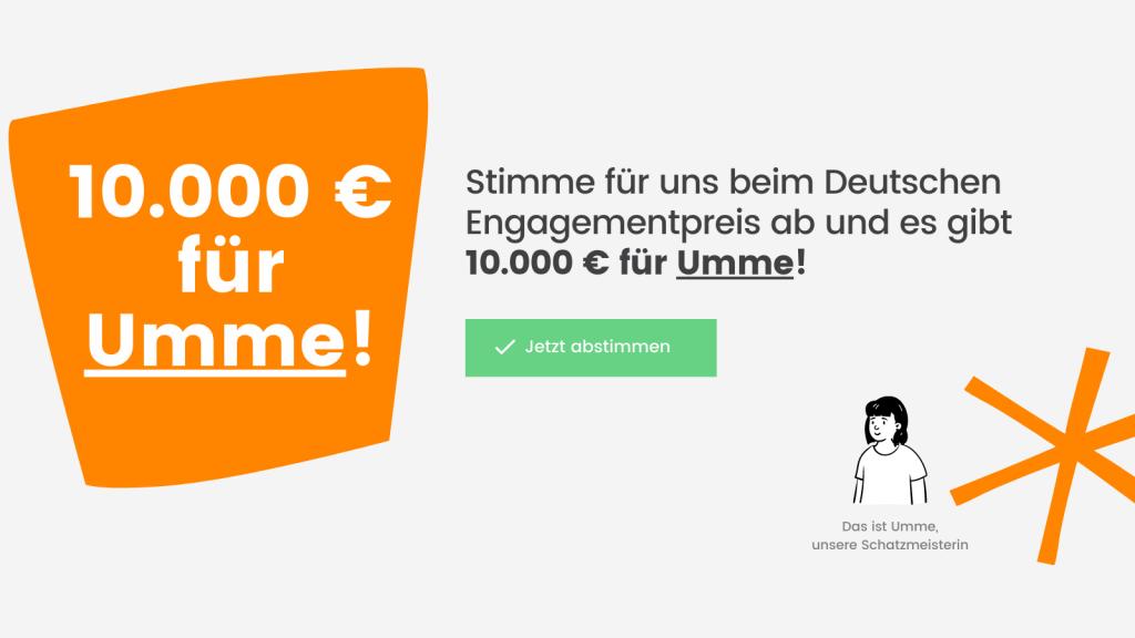 10.000 EUR für Umme