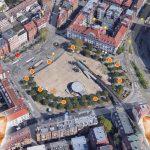 Der Marienplatz bekommt mehr und neue Mülleimer - wir durften die Positionen mitbestimmen