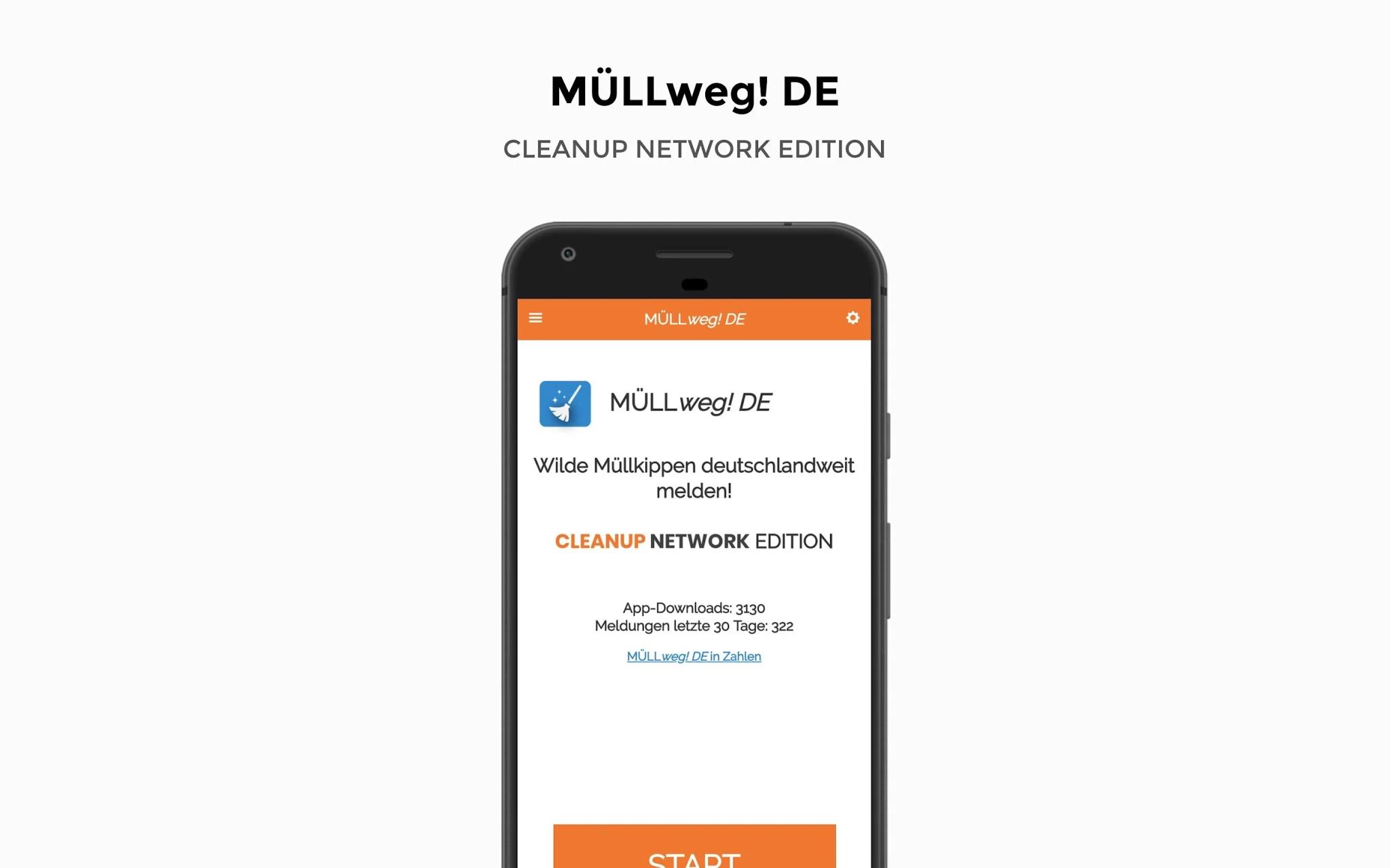 MÜLLweg! DE – die Cleanup Network Edition