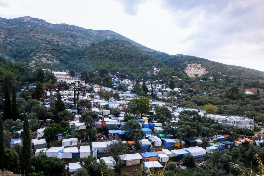 samos flüchtlingslager