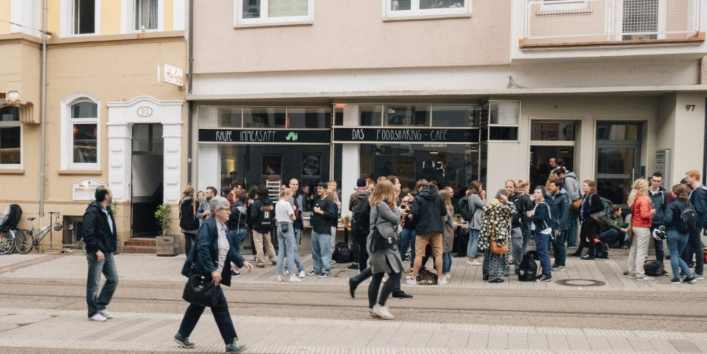 Foodsharing Café Raupe Immersatt