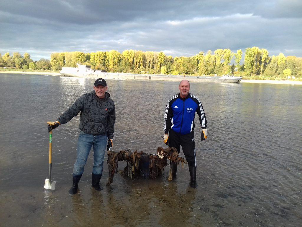Rhein Clean Up Dormagen räumt auf