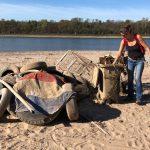 Rhein Clean Up Dormagen - 100 Tonnen Müll und Beitritt zum Netzwerk