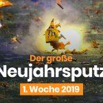 Neujahrsputz-Aktionen in ganz Deutschland - auch in Stuttgart