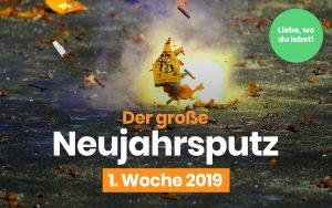 Neujahrsputz-Aktionen in ganz Deutschland – auch in Stuttgart