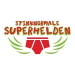 stinknormale superhelden logo
