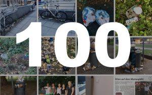 Über 100 Cleanup-Helfer in Stuttgart