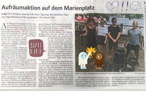 Stuttgarter Zeitung berichtet über das Cleanup No2