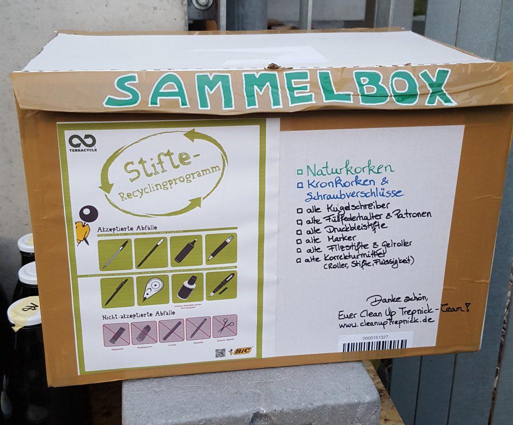 terracycle sammelbox für bic