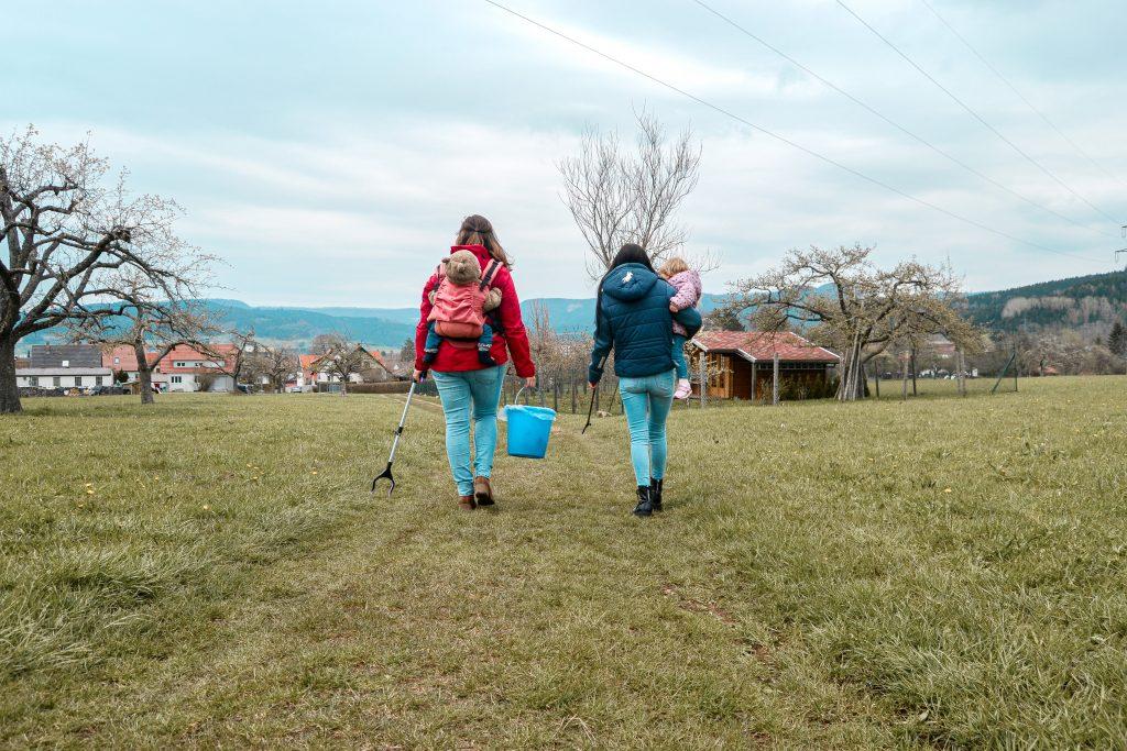 Umweltfüchsle Erika und Julia