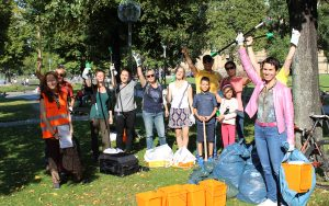 So war der World Cleanup Day 2018 in Stuttgart