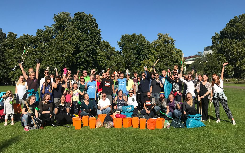 World Cleanup Day 2019 Stuttgart