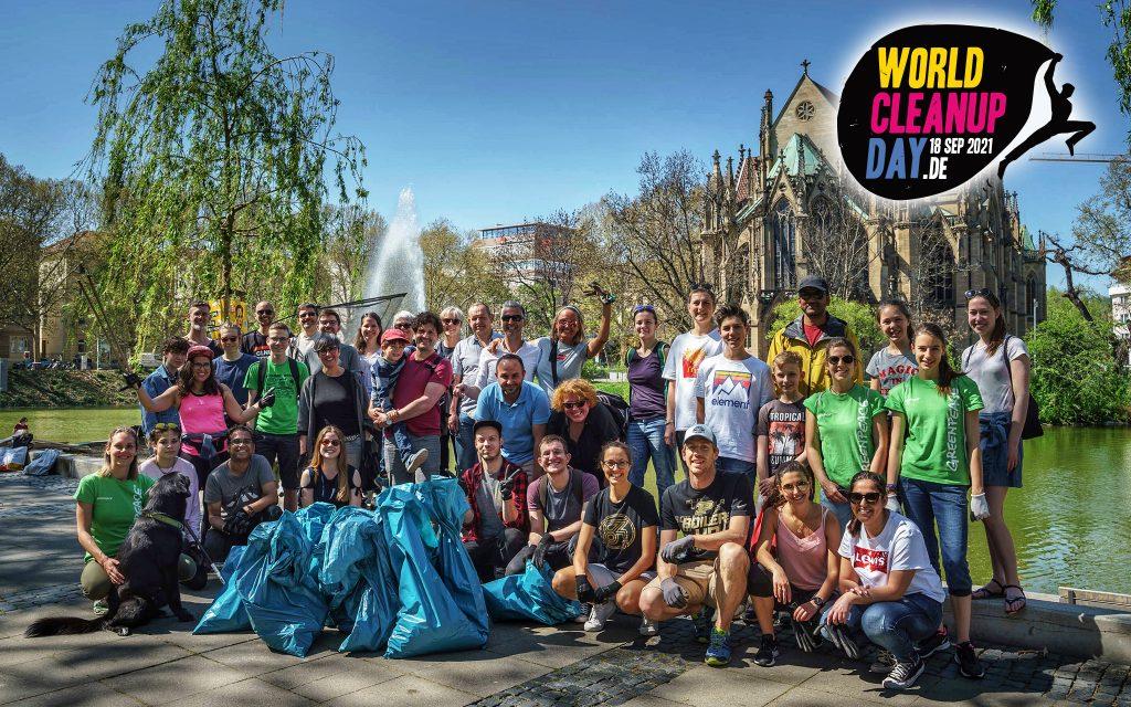 World Cleanup Day 2021 Stuttgart