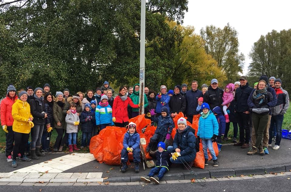 Cleanup am Rhein
