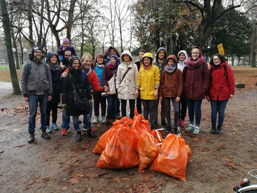 Zero Waste Bonn Weihnachts-Cleanup